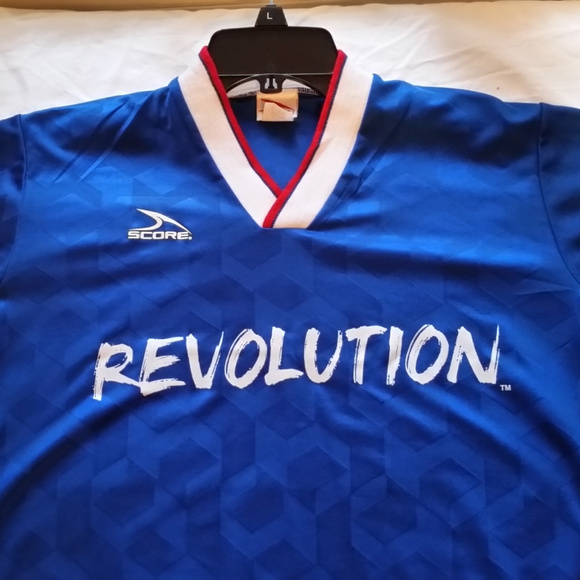 new product 56224 2c83e Score Youth Large MLS Jersey N.E. Revolution